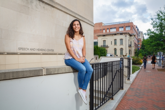 Bethany Perez, a Senior Class Gift Campaign Coordinator