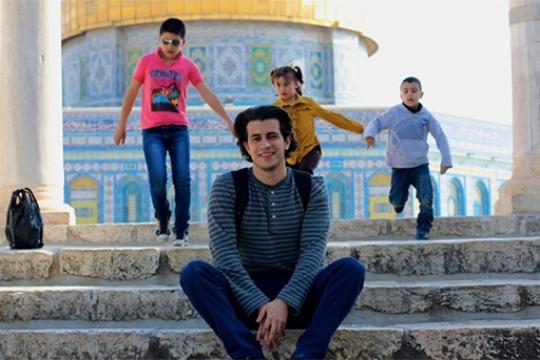 Maen Hammad, ESIA '17, is On a Roll